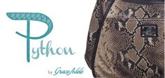 They're new. They're daring. They're exotic! Grace Adele's new Seasonal Items in Python print, are available starting April 1 through July 31, or while supplies last! www.embry.graceadele.us