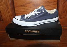 a41a2817edec52 New NIB Converse Chuck Taylor All Star Ox Navy Blue Men Size 13 Unisex Women  15