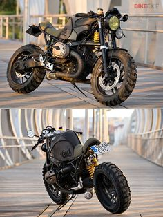 BMW's elegant sport-tourer R1200S has been given a radical makeover by the Spanish workshop Cafe Racer Dreams. It's one of the most brutal-looking customs we've ever #Motorbike| http://motorbikegallery.lemoncoin.org