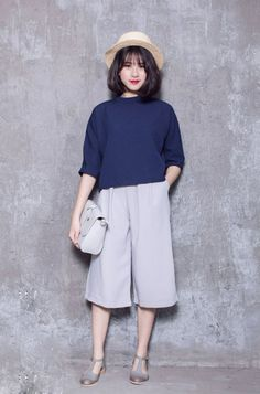 Office Outfits Women Casual, Casual Wear, Girl Outfits, Cute Outfits, Fashion Outfits, Mix Style, Girl Fashion, Womens Fashion, Korean Fashion