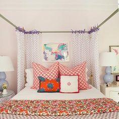 Kids Canopy Bed, Contemporary, girl's room, Furbish Studio
