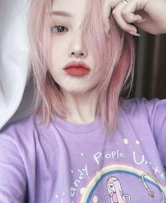 Raise your hand if you belong to candy people., How to Be a Popular Girl Korean Make Up, Cute Korean, Korean Girl, Asian Girl, Korean Beauty, Asian Beauty, Pony Makeup, Uzzlang Girl, Aesthetic Girl