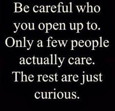 Not everyone is trustworthy
