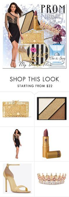 """""""ModeShe1"""" by bamra ❤ liked on Polyvore featuring Fraiche, Charlotte Olympia, Elizabeth Arden, Lipstick Queen and Yves Saint Laurent"""