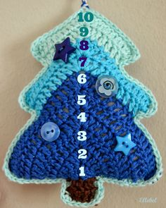 Ellebel: Tutorial kerstboompje NL!