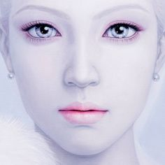 LOVE this painting, 'Snow Queen' by Kwon Kyung-yup