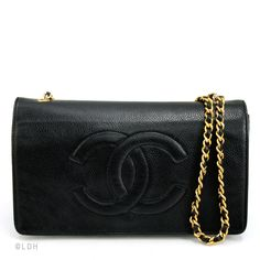 Chanel Black WOC Wallet on Chain (Authentic Pre Owned)