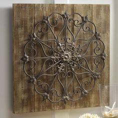 Countrydoor metal and wood wall decor