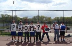 Cute ideas on how to ask someone to prom