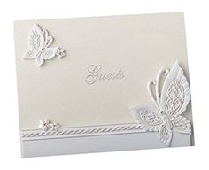 Raised Butterfly Design Elegant Guest Book FavorWarehouse http://smile.amazon.com/dp/B00IGAHXII/ref=cm_sw_r_pi_dp_Vs6Zvb0WHGYES