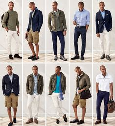 Men's Apparel: 10 pieces, 10 outfits | Banana Republic
