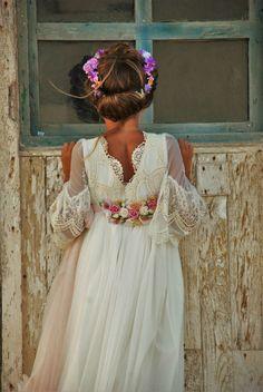 LA ITALIA DE MON AIR Little Girl Dresses, Girls Dresses, Flower Girl Dresses, Pageant Dresses, Flower Girls, Communion Hairstyles, Holy Communion Dresses, Baptism Dress, Girls Party Dress
