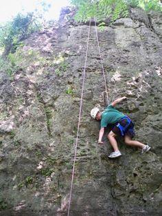 Rocks + Climbing = Yes!