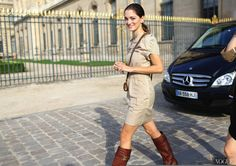 On The Hunt for Paris FW Street Style | Damsel in Dior