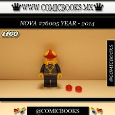 Nova from LEGO set #76005 You can buy this LEGO toy at: www.comicbooks.mx Also follow us on Instagram: comicbooks, sundaycomics and sportscards