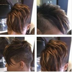 Faux hawk....lovin' this....for 2013!