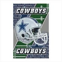 """Cowboys fans will go wild for this wonderful sign! Unique design """"flips"""" between the official lettering and famed star logo of the mighty Dallas team. Magnetic back attaches instantly and securely to any metal surface. Officially licensed NFL prod..."""