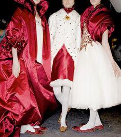 Alexander McQueen Autumn/Winter 2008 Backstage