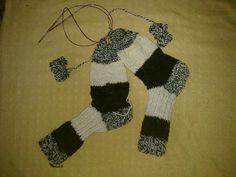 Zwei Socken gleichzeitig stricken von Prignitzer Kunstwerkstatt auf DaWanda.com