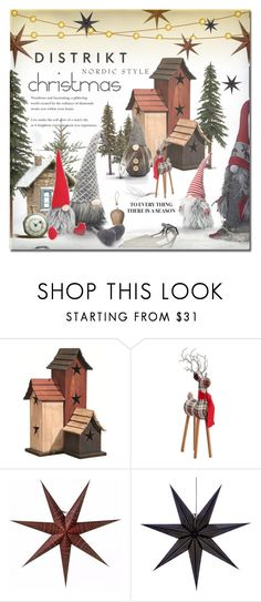 """Tomte Nisse"" by idetached ❤ liked on Polyvore featuring interior, interiors, interior design, home, home decor, interior decorating, Sockerbit, DutchCrafters, Zara Home and Pottery Barn"