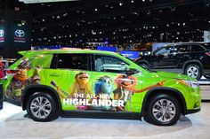 2014 Chicago Auto Show Must See Cars - Nissan Muppets Highlander