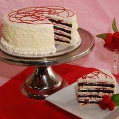 Raspberry Truffle Smith Island Cake My Wedding
