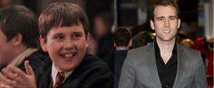 Los actores de Harry Potter hace 13 años y ahora. Neville cambió drásticamente!