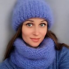 Cute Woman, Mittens, Knitwear, Beanie, Turtle Neck, Wool, Knitting, Womens Fashion, Hats