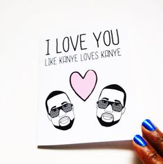 Funny Valentine's Day Card-Funny greeting card- just because card on Etsy, $4.00