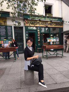 I read in Paris :D