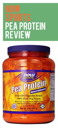 Now Foods Pea Protein is one of the few pea proteins on the market, it provides highly bio-available protein from peas. Protein Powder Reviews, Best Protein Powder, Protein Mix, Vegetable Protein, Amino Acids, How To Know, Pure Products, Diet, Foods