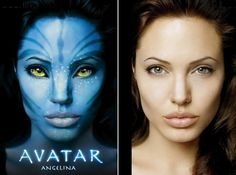 Avatar After Before Photoshop