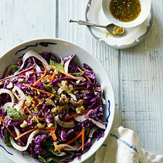 My Cabbage, Cashew, and Fennel Salad recipe @SunsetMag (great photo by Yunhee Kim)