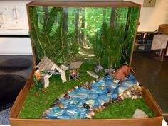 biome diorama wetland - Yahoo Search Result s Ecosystems Projects, Science Projects, School Projects, Shoe Box Diorama, Diorama Kids, Diorama Shoebox, Shoebox Diy, Dinosaur Diorama, Shoebox Ideas