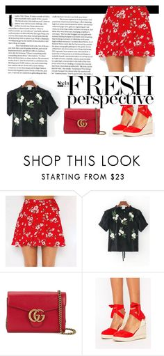 """fresh perspective"" by senc-1 ❤ liked on Polyvore featuring Gucci and Pimkie"