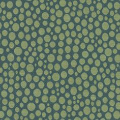 Spot On Upholstery in Tropic. This whimsical fabric has a slight visual texture created by a concave effect in the weave structure. Designed by Dorothy Cosonas.