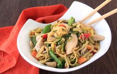 Zucchini-Noodle Lo Mein & More Pasta Swaps! 2 1/4 cups is 277 cals
