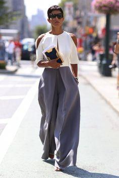 white, grey, cold, shoulder, fit, flare, jumpsuit
