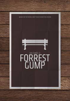 #Minimalistic #Movie #Posters #typography #design