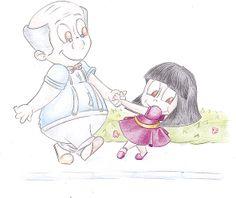 """Ilustração para livro infantil """"Iadine"""""""