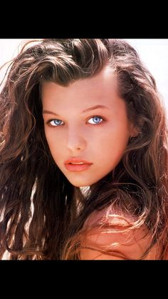 Milla Jovovich I remember being so jealous of how pretty she was on the cover of my seventeen magazine