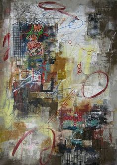"Saatchi Art Artist Jiaming Wang; Painting, ""From Old Circumstances"" #art"