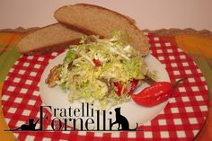 All Saints salad: Traditional #endive #salad enriched with chili #peppers and #anchovies, perfumed with #walnut oil and #apple vinegar - Fratelli ai Fornelli