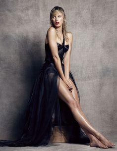 La Gran Belleza: Karolina Kurkova by Nico Bustos for Vogue Spain October 2014