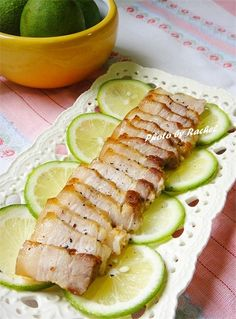 檸香椒鹽豬五花食譜、作法 | Rachel煮廚食間的多多開伙食譜分享