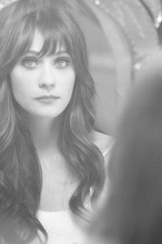 Love the hair!                                        BH.                                                    Zooey Deschanel