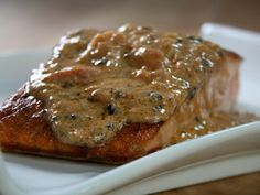 Salmon with Coconut Sauce