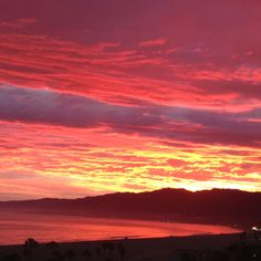 Sunset over Malibu - Santa Monica Bay was never looked more Beautiful - July 2012