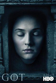 Sansa Stark (Sophie Turner) Game of Thrones Season 6 in House of Faces