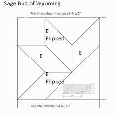 Civil War Quilts: Westering Women 9:Sage Bud for Fort Laramie